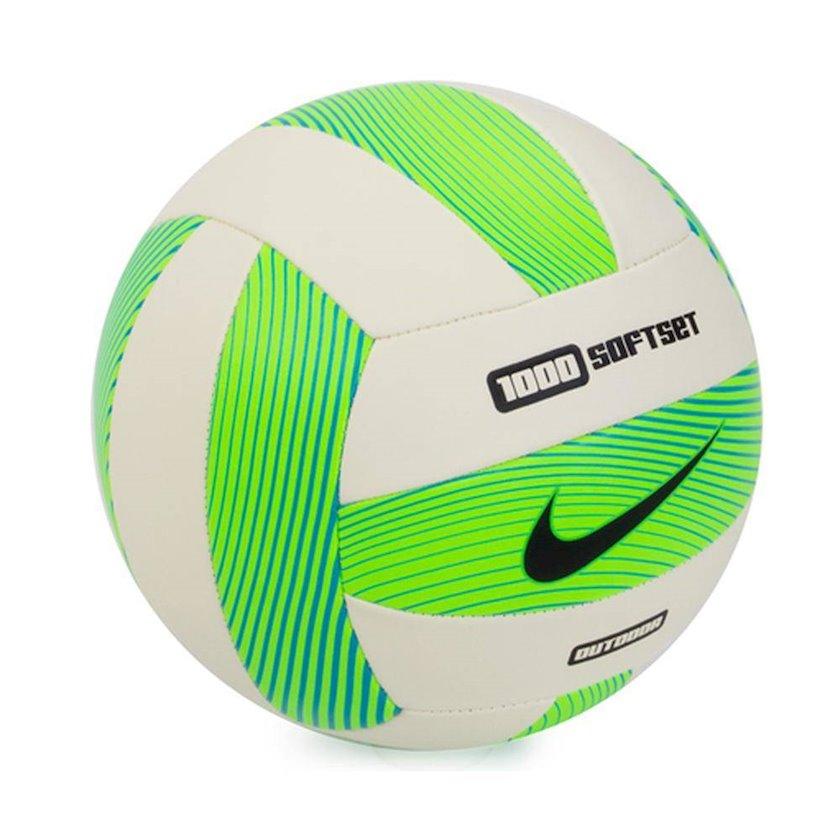 Voleybol topu Nike Softset 1000 Outdoor 5, Ağ/Yaşıl