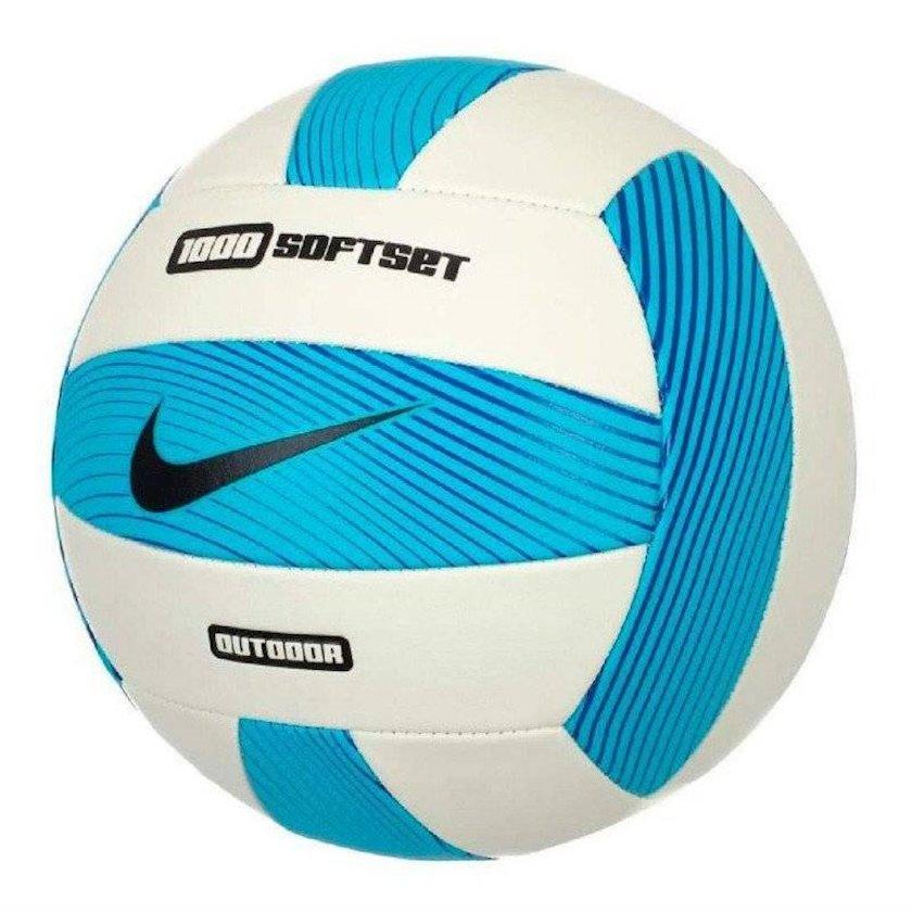 Voleybol topu Nike 1000 Softdet Outdoor 5, Ağ/Mavi