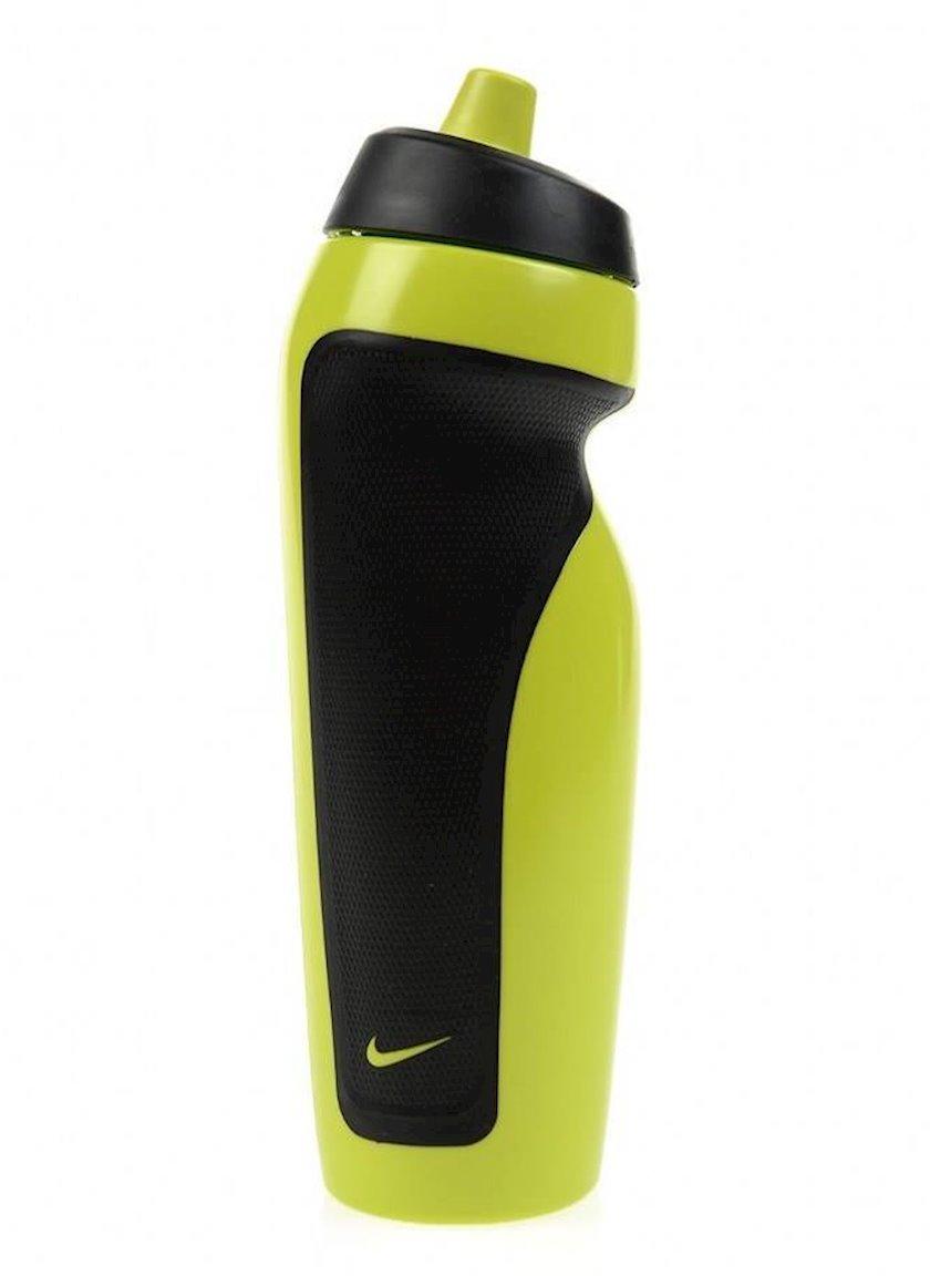 Butulka Nike Sport Water Bottle, 600 ml, Qara/Sarı