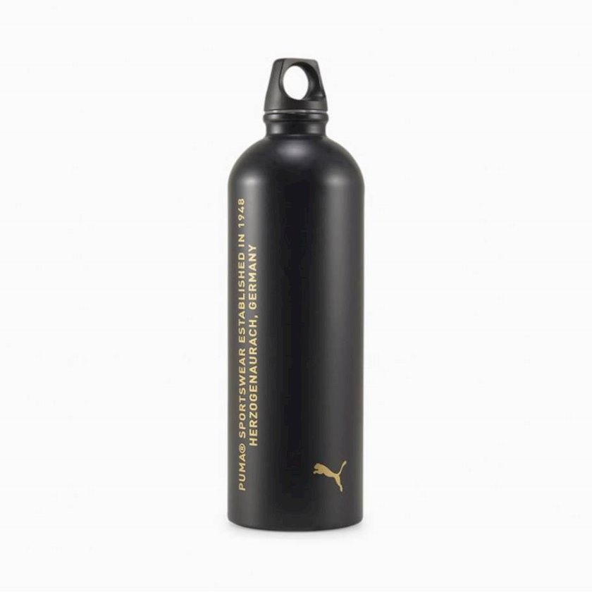 Butulka Puma TR Stainless Steel Bottle 05386801, 600 ml, Qara