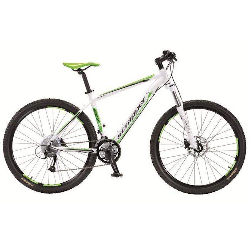 Dağ velosipedi Scrapper 5.4 UNI , uniseks, ağ/yaşıl , ölçü 53