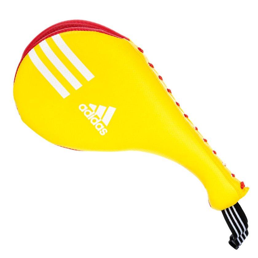 Taekvondo üçün pəncəl-raket Adidas Kids Double Target Mitts, sarı