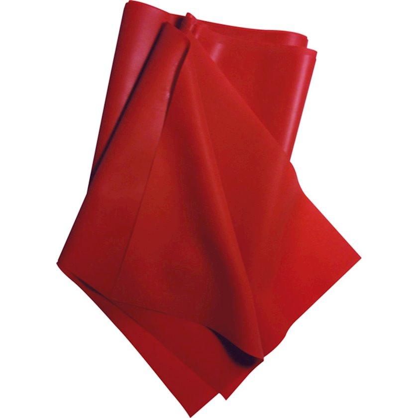 Məşq üçün elastik lent Excellerator Natural Latex Band Red 2, 3 kq