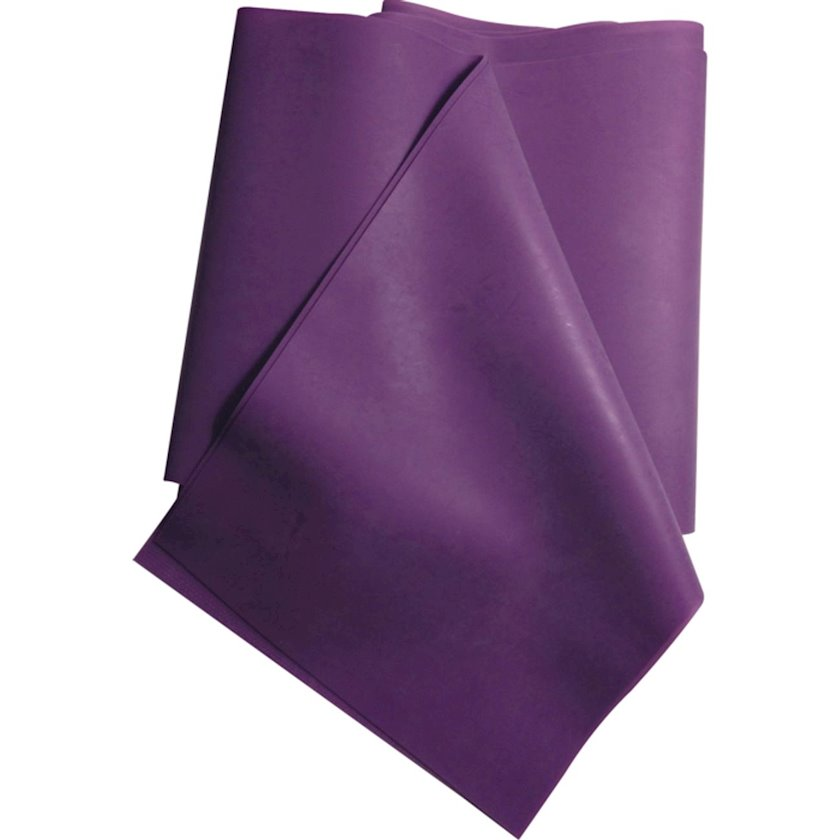 Məşq üçün elastik lent Excellerator Natural Latex Strip Lilac 5, 4 kq