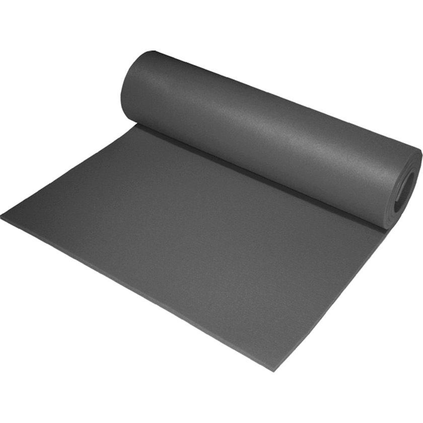 Fitnes xalçası Athlitech Basic Gym Mat, Material:Polietilen köpük, Uzunluğu 140 sm x Eni 50 sm x Qalınlığı 0.7 sm, Boz