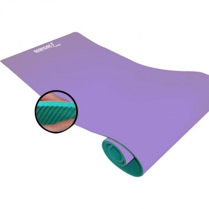 Fitnes və yoqa xalçası GVG Strong Floor Mat - Mixed, Material:Polietilen köpük, Uzunluğu 180 sm x Eni 60 sm x Qalınlığı 0.7 sm, Bənövşəyi