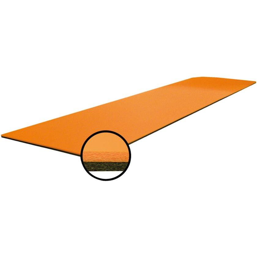 Fitnes xalçası GVG Grand Comfort Mat, Material:Penoplast, Uzunluğu 180 sm x Eni 60 sm x Qalınlığı 1.5 sm, Narıncı