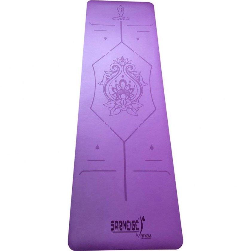 Yoqa xalçası GVG Natte Yoga Mat, Material:Dəri, Bənövşəyi