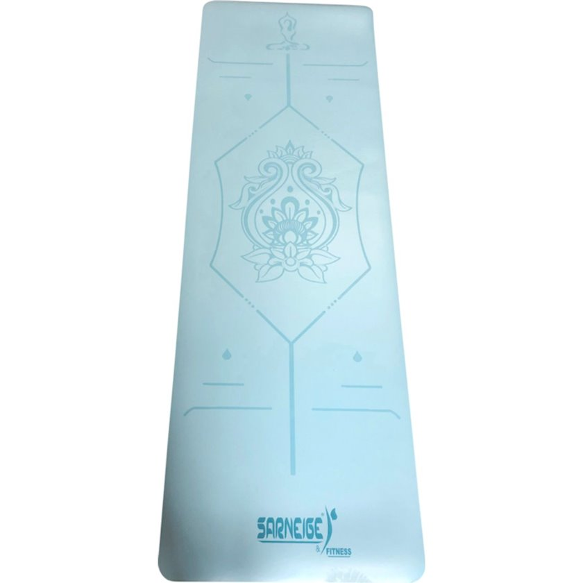 Yoqa xalçası GVG Natte Yoga Mat, Material:Dəri, Mavi