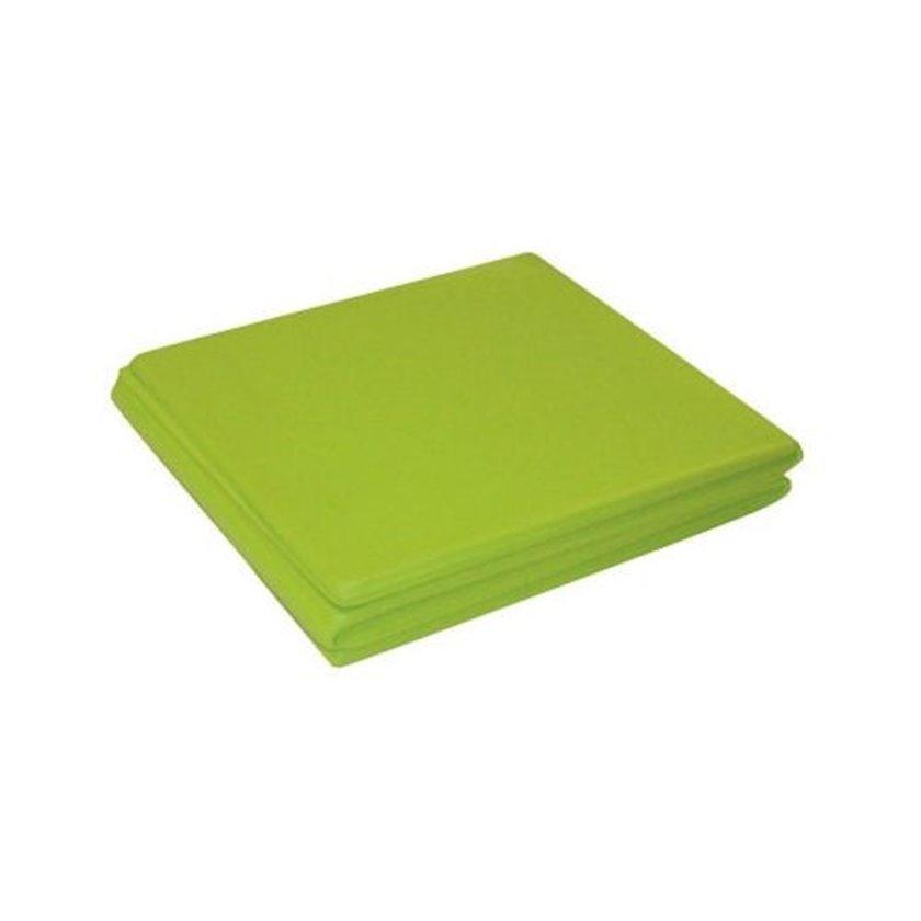 Qatlanan xalça Toorx folding Mat-110, Uzunluğu 110 sm x Eni 48 sm x Qalınlığı 0.5 sm, Açıq yaşıl
