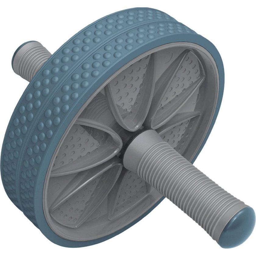 Press üçün rolik Athlitech Exercise Wheel, 1 əd, Diametr 186 mm, Uzunluğu 260 mm, Boz