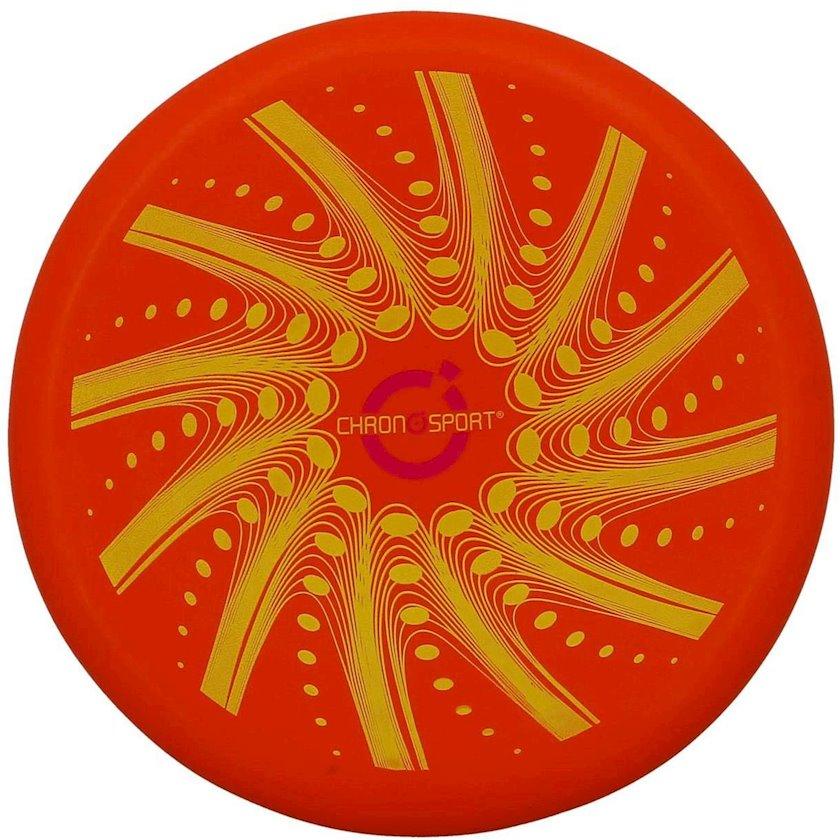 Disk-frisbi Sport and Fun Chronosport Disque Volant Soft, 1əd, Sarı/Qırmızı