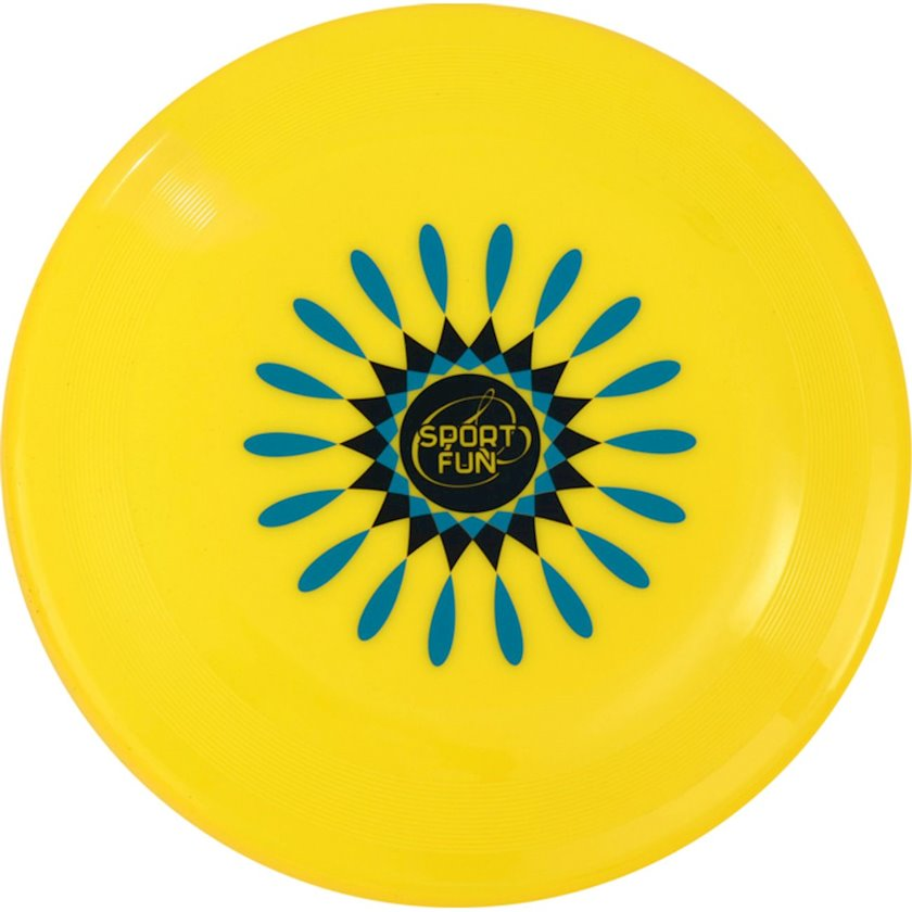Disk-frisbi Sport and Fun Flying DISC 78G, 1əd, Sarı