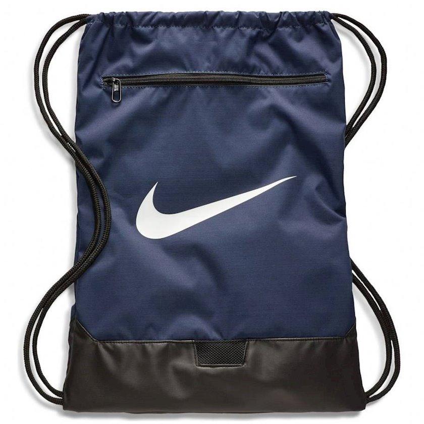 Ayaqqabılar üçün torba NIKE BRASILIA 9.0 GYMSACK, Uniseks, Polyester, Tünd göy