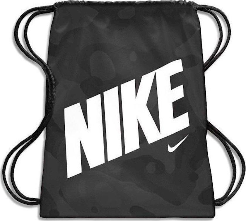 Ayaqqabılar üçün torba NIKE MILITARY BA5992 GYMSACK, Uniseks, Polyester, Qara