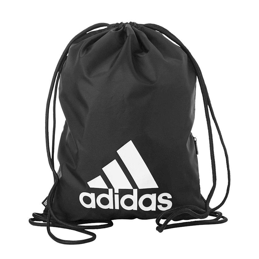 Ayaqqabılar üçün torba ADIDAS DQ1068 GYMSACK, Uniseks, Polyester, Qara