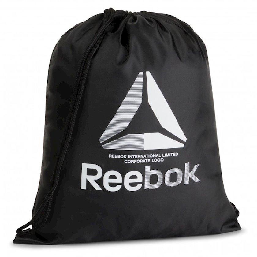 Ayaqqabılar üçün torba REEBOK EC5561 GYMSACK, Uniseks, Polyester, Qara