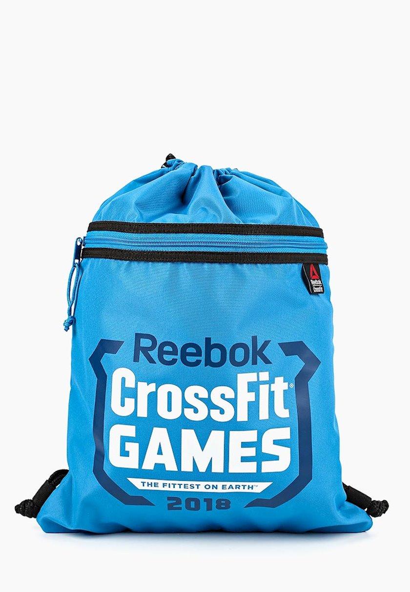 Ayaqqabılar üçün torba REEBOK GORSSFIT GAMES DN1516 GYMSACK, Uniseks, Polyester, Mavi