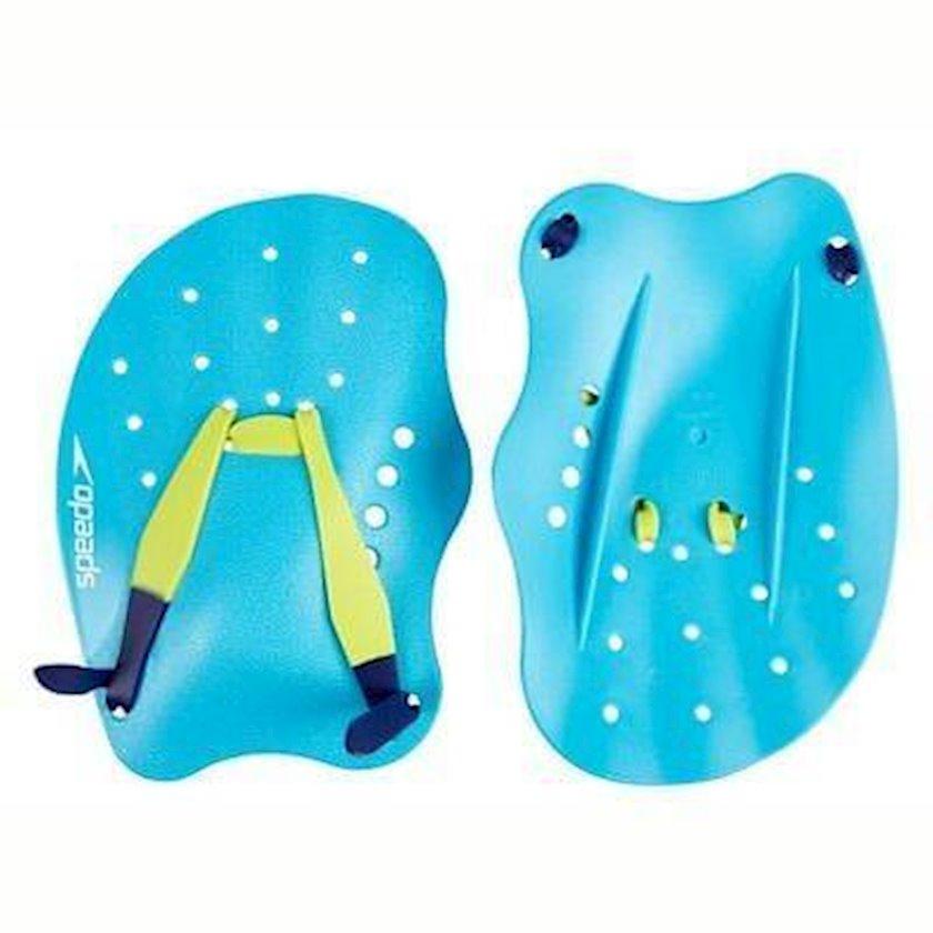 Üzgüçülük üçün üzgəc Speedo Tech Paddle, uniseks, mavi/sarı, ölçü L