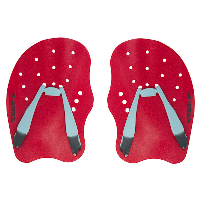 Üzgüçülük üçün üzgəc Speedo Tech Paddle, uniseks, qırmızı/boz, ölçü S