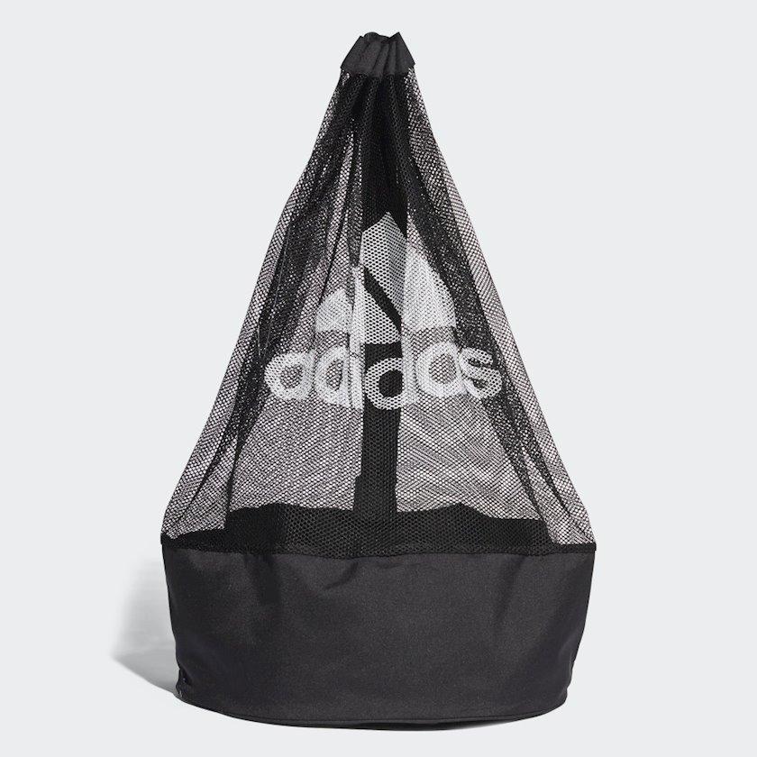 Toplar üçün çanta ADIDAS BALLNET E44309, Uniseks, Polyester, Qara