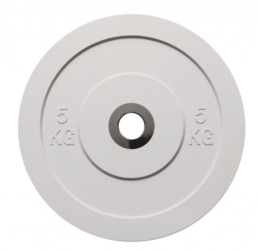 Disk Toorx Disco bumper challenge, 5kq, rezin, dəliyin diametri 50mm