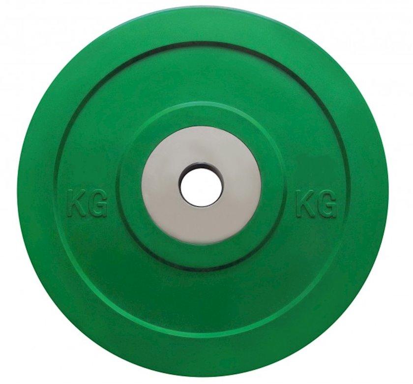 Disk Toorx Disc Bumper Microcargo, 1kq, rezin, dəliyin diametri 50mm