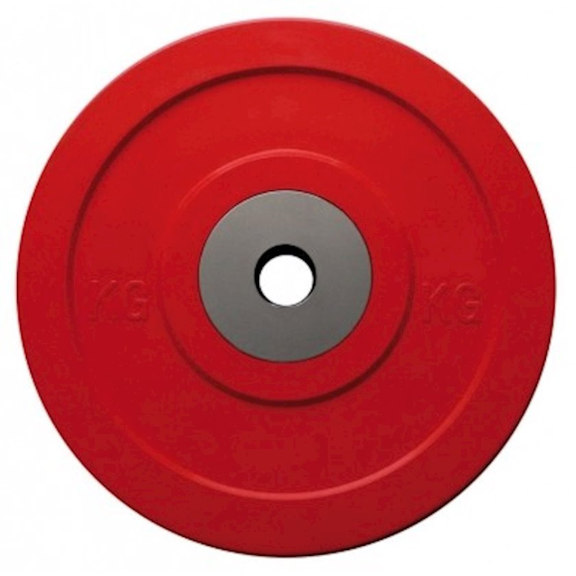 Disk Toorx Disc Bumper Microcargo, 2.5kq, rezin, dəliyin diametri 50mm