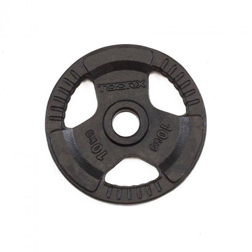 Disk Toorx Disc Black Cast Iron, 10kq, çuqun, dəliyin diametri 50mm