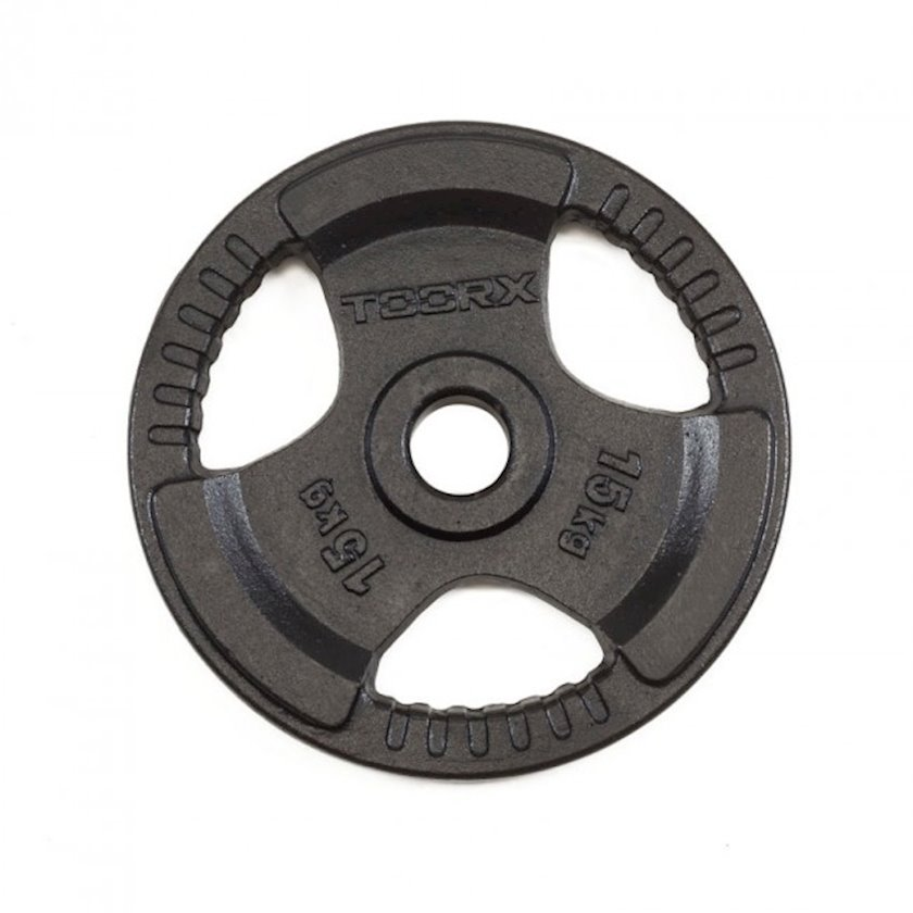 Disk Toorx Disc Black Cast Iron, 15kq, çuqun, dəliyin diametri 50mm