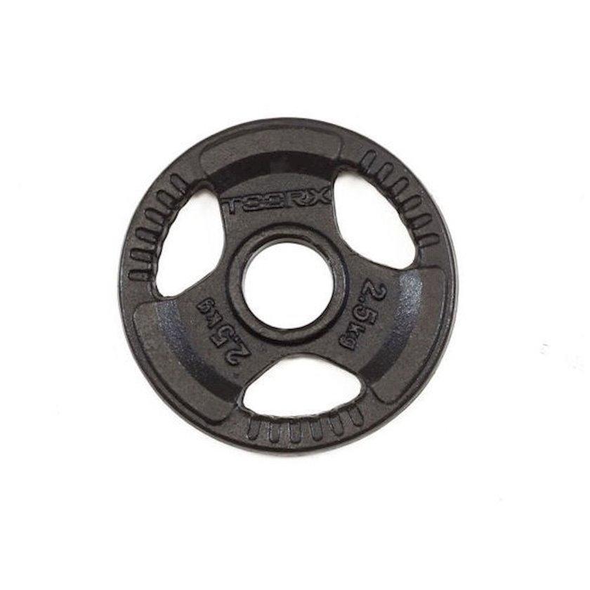 Disk Toorx Disc Black Cast Iron, 2.5kq, çuqun, dəliyin diametri 50mm