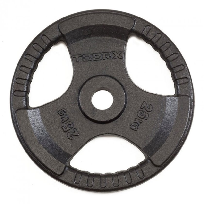 Disk Toorx Disc Black Cast Iron, 25kq, çuqun, dəliyin diametri 50mm