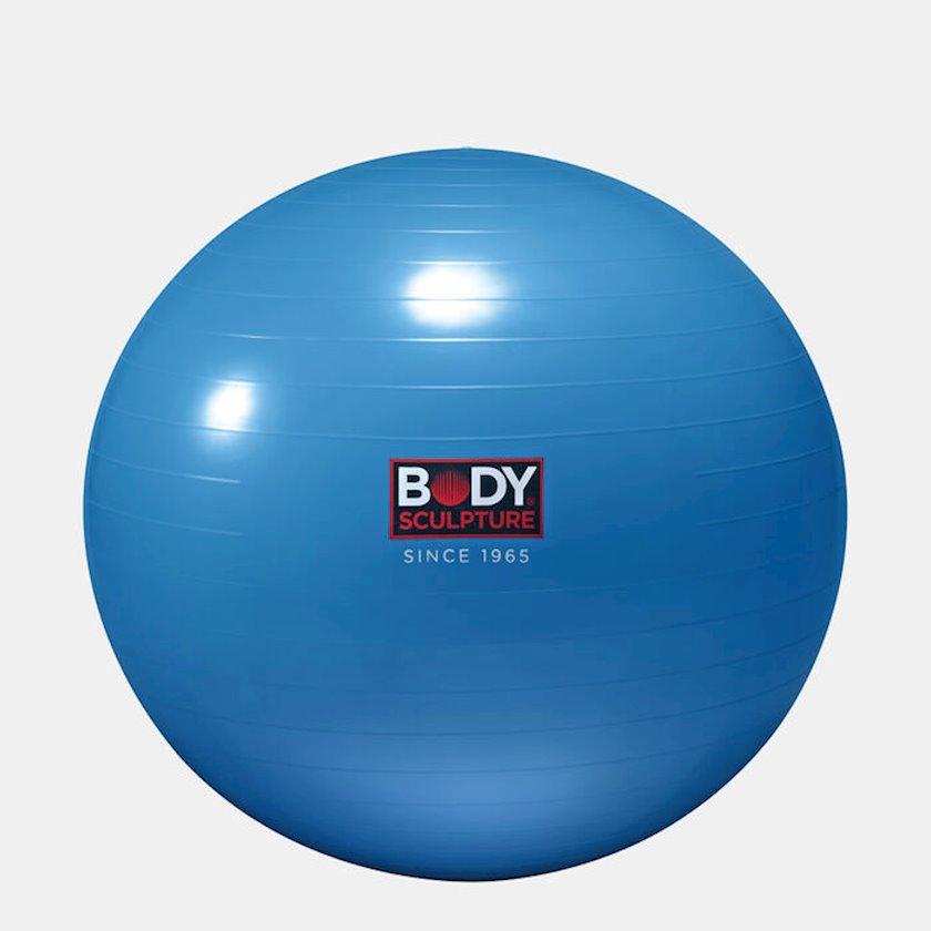 Fitbol Body Sculpture 30-inch Anti-Burst Gymball, Diametr 76 sm, Göy