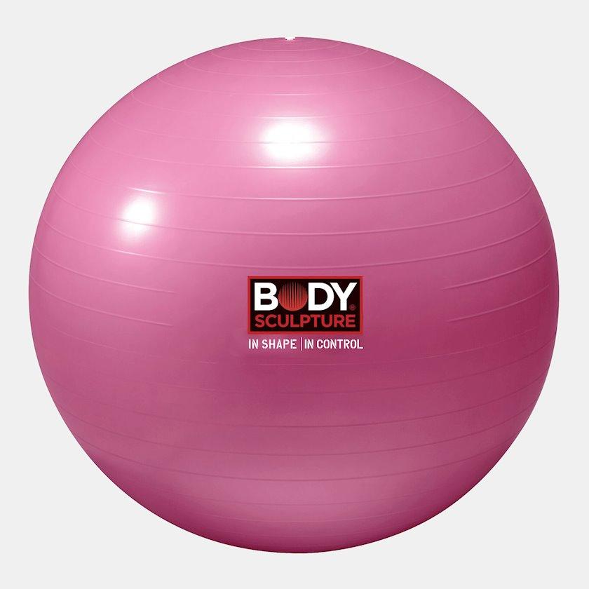 Fitbol Body Sculpture 22-inch Anti-Burst Gymball, Diametr 76 sm, Çəhrayı
