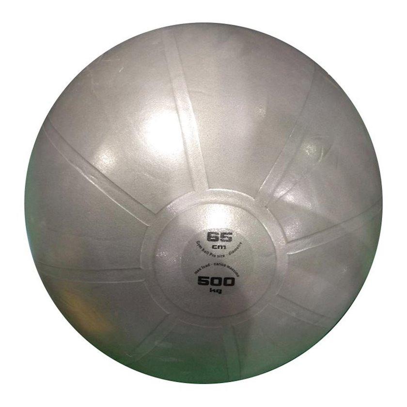 Fitbol Toorx Gym Ball Pro Grigio, Diametr 65 sm, Boz
