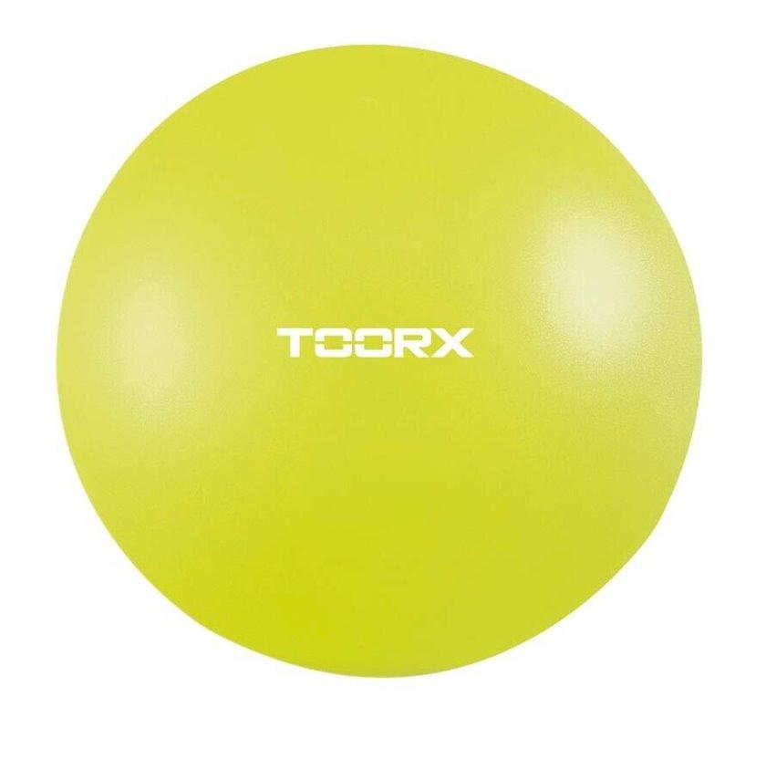 Ağırlaşdırılmış fitbol Toorx Toning ball AHF065 1 kq, Diametr 65 sm, Yaşıl laym