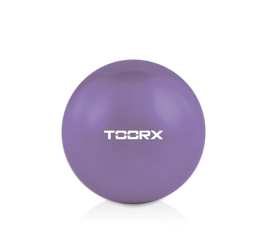 Ağırlaşdırılmış fitbol Toorx Toning ball AHF066 1.5 kq, Diametr 65 sm, Bənövşəyi