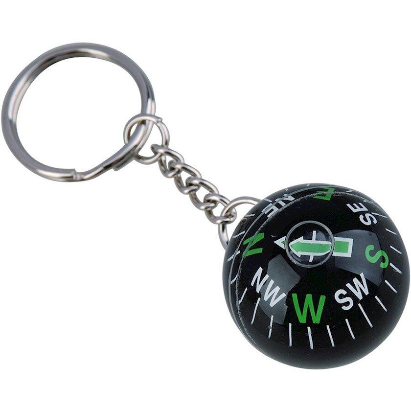 Brelok-kompas Munkees Ball Compass 3152, Qara
