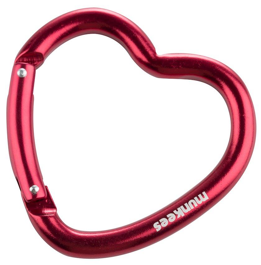 Karabin Munkees Heart 3221, 80 mm, Qırmızı