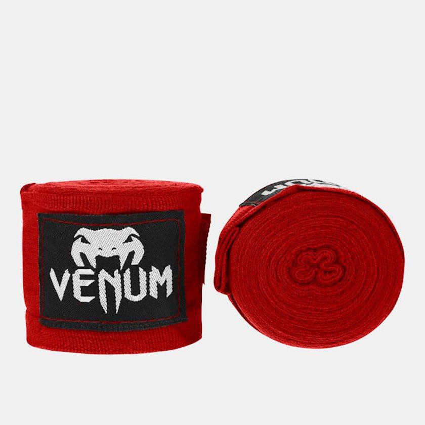 Boks üçün əl bandajı Venum Kontact, uzunluq 2.5 m, rəng qırmızı