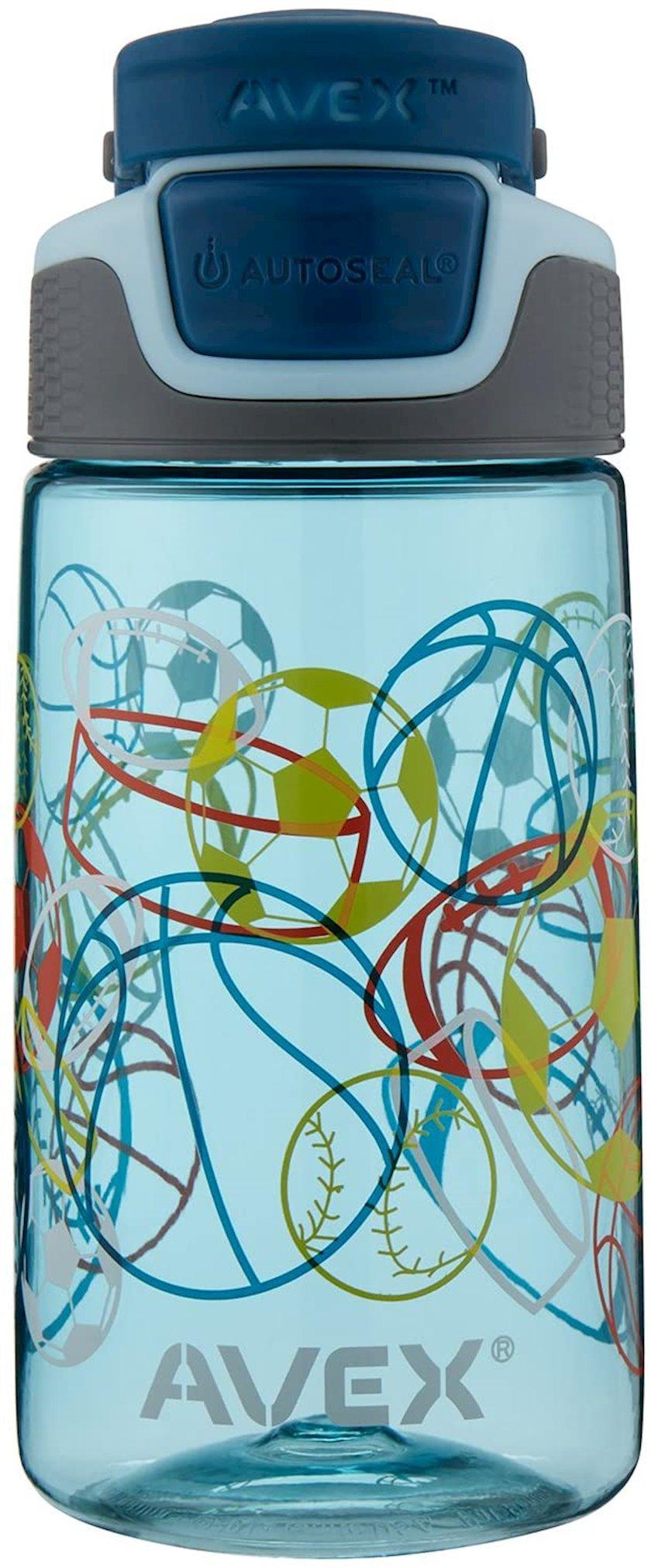 Butulka Avex Kids Freeride Multi Sport Autoseal Water Bottle, 473 ml, Mavi