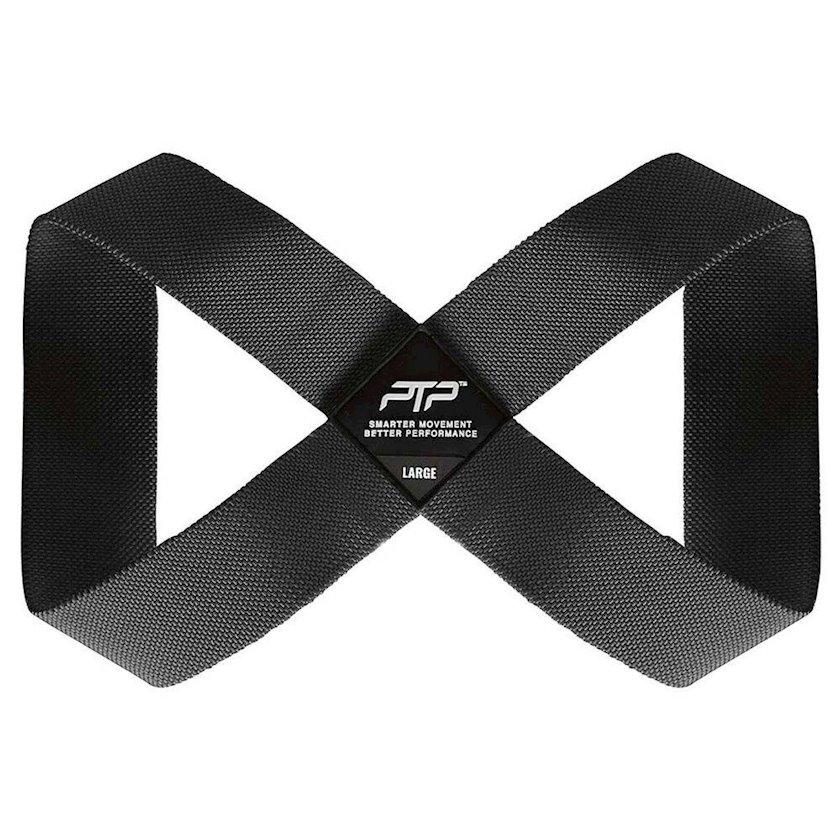Yoqa üçün kəmər PTP Large Yoga Loop Strap/Charcoral