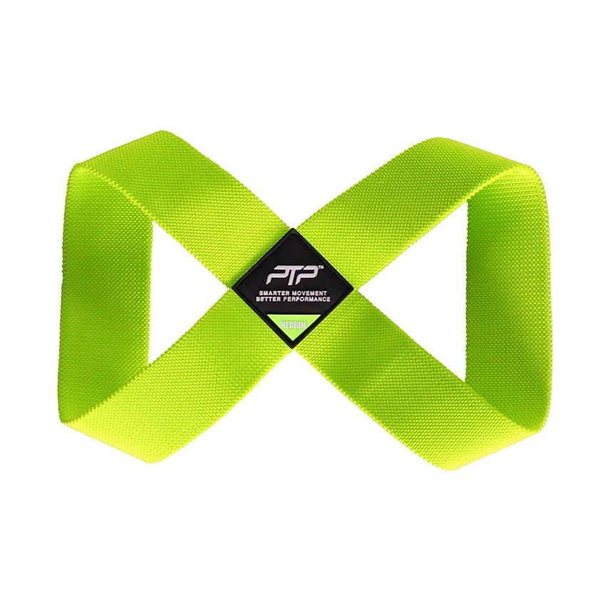 Yoqa üçün kəmər PTP Medium Yoga Loop/Lime