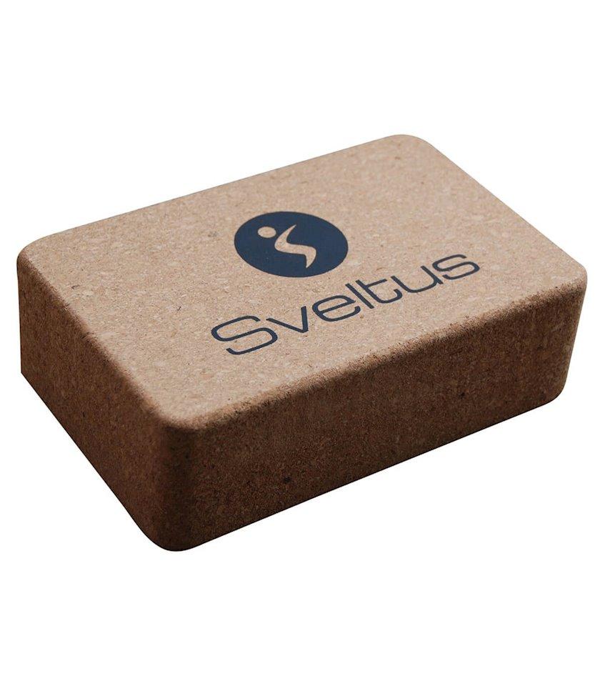 Yoqa üçün blok Sveltus Yoga Brick, 220х140х70mm