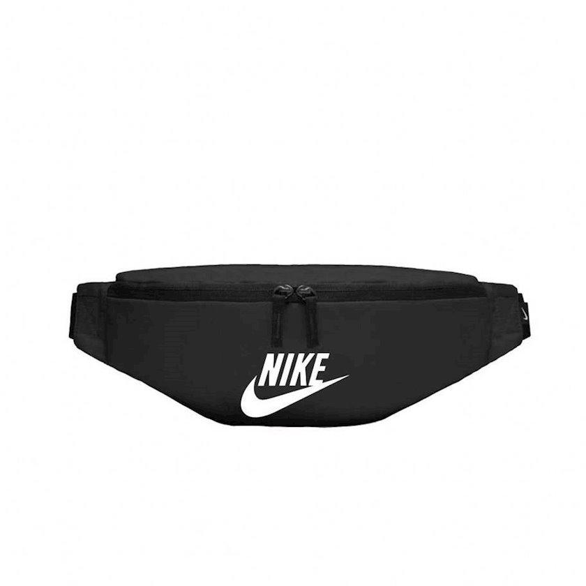 Kəmər çantası Nike BA5750-010 HERITAGE HIP PACK BLACK, uniseks, polyester, qara, 16x43.4x5.2sm
