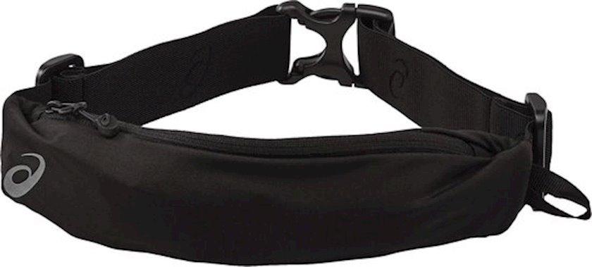 Kəmər çantası Asics 142209-904 WAISTPACK PERFORMANCE BLACK, uniseks, qara