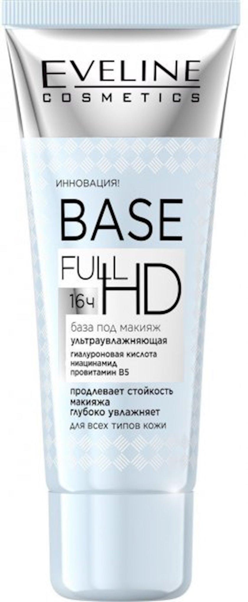 Hamarlaşdırıcı baza makiyaj üçün Eveline Cosmetics Base Full HD 30 ml