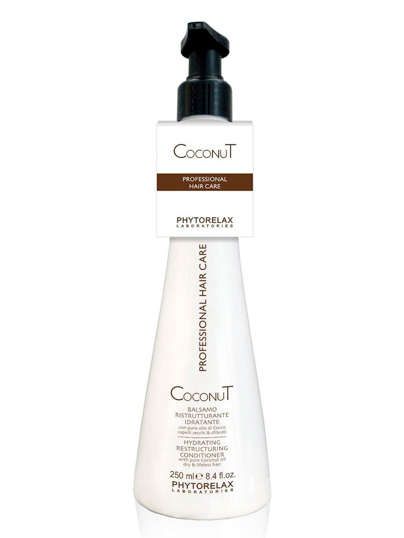 Nəmləndirici hidravlik kondisioner Phytorelax Coconut oil hair care 250 ml