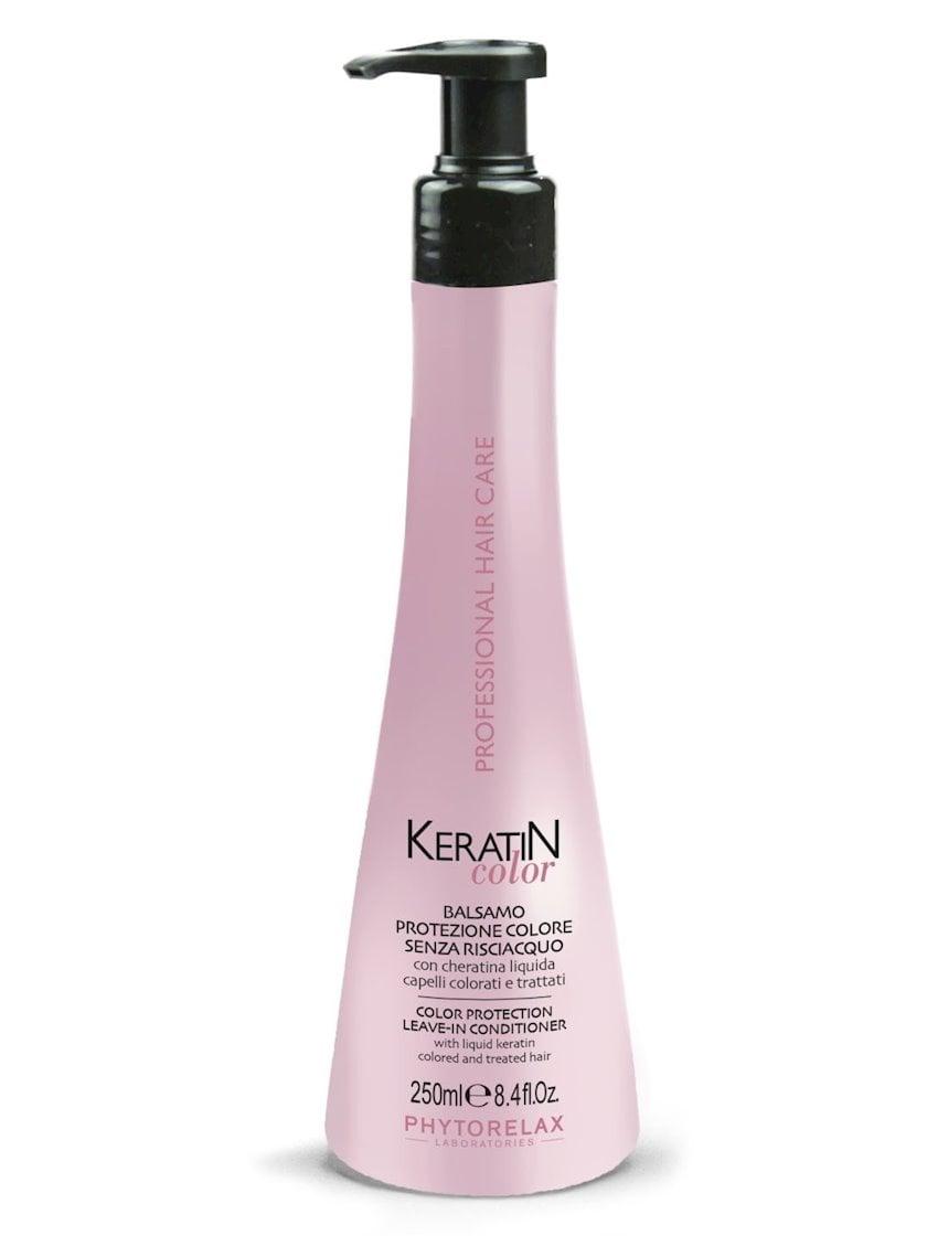Kondisioner rənglənmiş saçlar üçün Phytorelax Keratin Color Protection Leave-In Conditioner 250 ml
