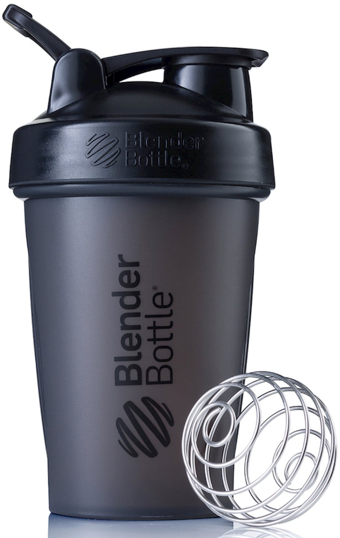 Şeyker BlenderBottle BLC01616A11-1 Classic Full Color Shaker Bottle, qara, polipropilen / polietilen / paslanmayan polad, 0.651 l